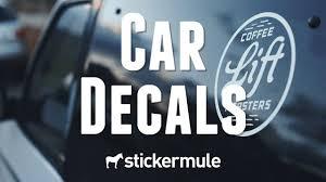Custom Vinyl Car Decals Sticker Mule
