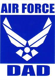 Amazon Com Air Force Dad Decal Sticker Automotive