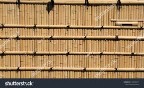 Japanese Style Bamboo Fence Panel Stock Photo Edit Now 1108938977
