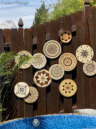 Diy Outdoor Art For Our Fence Cuckoo4design