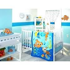 monsters inc crib set hide away