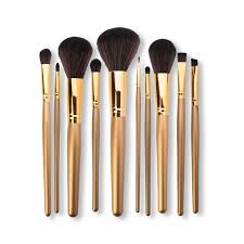 bp professional brush set gold