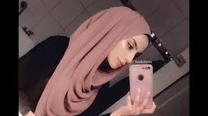 easy hijab style for 2018 chiffon
