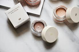 h m beauty cream eyeshadows review