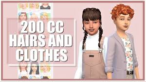 maxis match kids cc collection links
