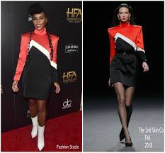 Janelle Monáe in The 2nd Skin Co. @ 22nd Annual Hollywood Film Awards –  Fashionsizzle