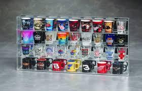 acrylic shot glass display 40