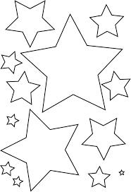 Sterren Kleurplaat Google Zoeken Kerststerren Kerst Knutselen