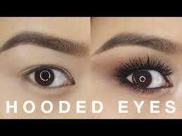 hooded eyes makeup tutorial you