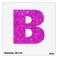 Letter B Wall Decals Stickers Zazzle