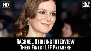 Rachael Stirling LFF Premiere Interview - Their Finest - YouTube