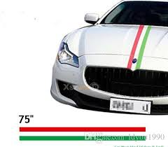 2020 190 15cm Roll 75 Italian Flag Side Racing Stripe Roof Hood Scooter Car Decal Colored Strip Sticker From Ldyou1990 22 1 Dhgate Com