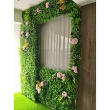 artificial plant wall feature deco