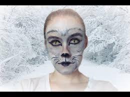 arctic fox wolf makeup tutorial