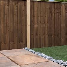 4ft X 6ft Pressure Treated Vertical Hit And Miss Fence Panel Mercia Garden Products