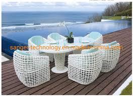 garden wicker dining furniture sets