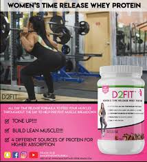 women s time release whey protein