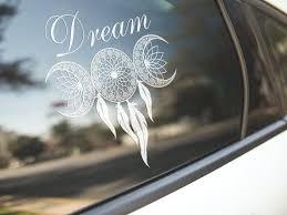 Goddess Dream Window Car Decal Etsy