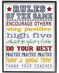 Great Sales On The Kids Room By Stupell Rules Of The Game Wall Plaque 11 X 14