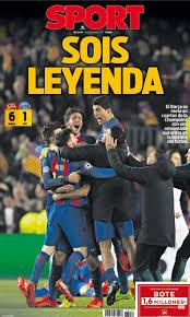 المجد لبرشلونة وإيمري مسخرة التاريخ في كامب نو أبرز عناوين الصحف الإسبانية بطولات