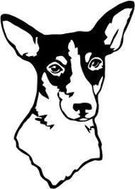 Rat Terrier Vinyl Decal Sticker Laptop Car Dog Puppy Animal Pet Pets Wall Bff Ebay