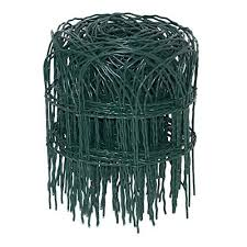 Floralcraft Green Pvc Coated Wire Garden Border Fencing Roll 10m X Giftenza