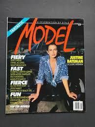88 MODEL Justine Bateman BROOKE SHIELDS Tully Jensen Rachel Hunter Kirsten  Allen | eBay