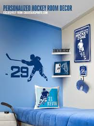 Hockey Home Decor Hockey Wall Decals Hockey Frames Hockey Room Hockey Bedroom Hockey Room Decor
