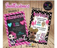 Invitacion Digital Munecas Lol Surprise 150 00 En Mercado Libre