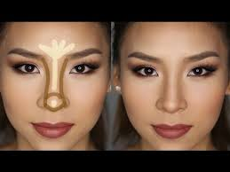 how to contour highlight your nose in