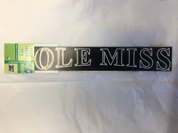 Large Ole Miss Window Decal Rebel Fever University Sporting Goods