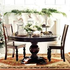 60 inch round pedestal dining table