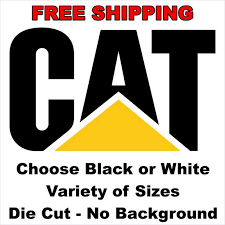 Caterpillar Cat Vinyl Decal Emblem Logo Equipment Restore Refurbish Sticker