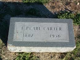 F. Pearl Carter (1882-1956) - Find A Grave Memorial