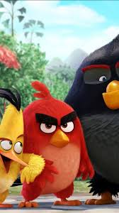 Angry Birds Movie Characters Android Wallpaper free download