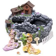 kenley fairy garden house planter