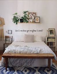 So I Can Kiss You Anytime I Want Wall Decal Etsy Romantic Bedroom Decor Simple Bedroom Bedroom Design