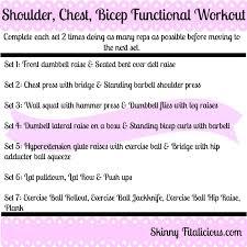 shoulder chest bicep workout