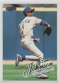 1998 Ultra - [Base] #309 - Lance Johnson