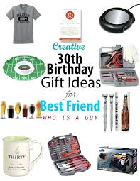 30 birthday gift ideas for him present
