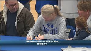 F-S's Kelsey Rittenberry Signs With Lindsey Wilson