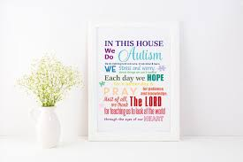 In This House We Do Autism Graphic Svg Graphic By Am Digital Designs Creative Fabrica