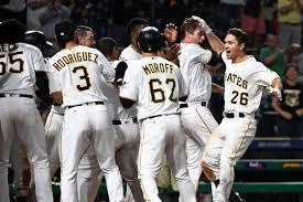 Adam Frazier's walk-off home run ends Pirates' losing streak ...