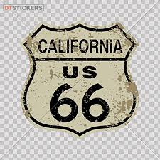 Vinyl Stickers Decal Route 66 Doors Motorcyc For Helmet Waterproof Carting Automobile Led Motocross 30 X 297 Inches Fully Waterproof Printed Vinyl Sticker Review Florcvfyodorova