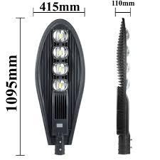 Đèn LED chiếu sáng đường phố COB 200W (C09-01-200) - CSC Lighting Việt Nam