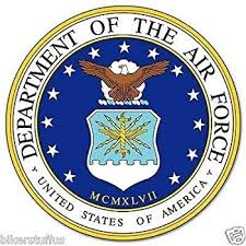 Amazon Com Mfx Design Us Department Of Air Force Sticker Decal Vinyl Made In Usa 3 In Automotive