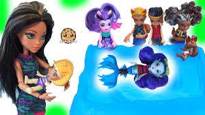 baby monster high family dolls