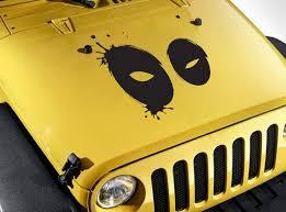 Buy Wade Wilson Mask Eyes Blood Hood Bad Superhero Comic Car Vinyl Sticker Decal