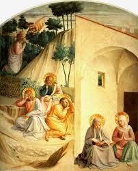 in the garden of gethsemane