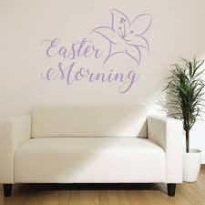 Easter Lily Easter Morning Vinyl Decor Wall Decal Customvinyldecor Com